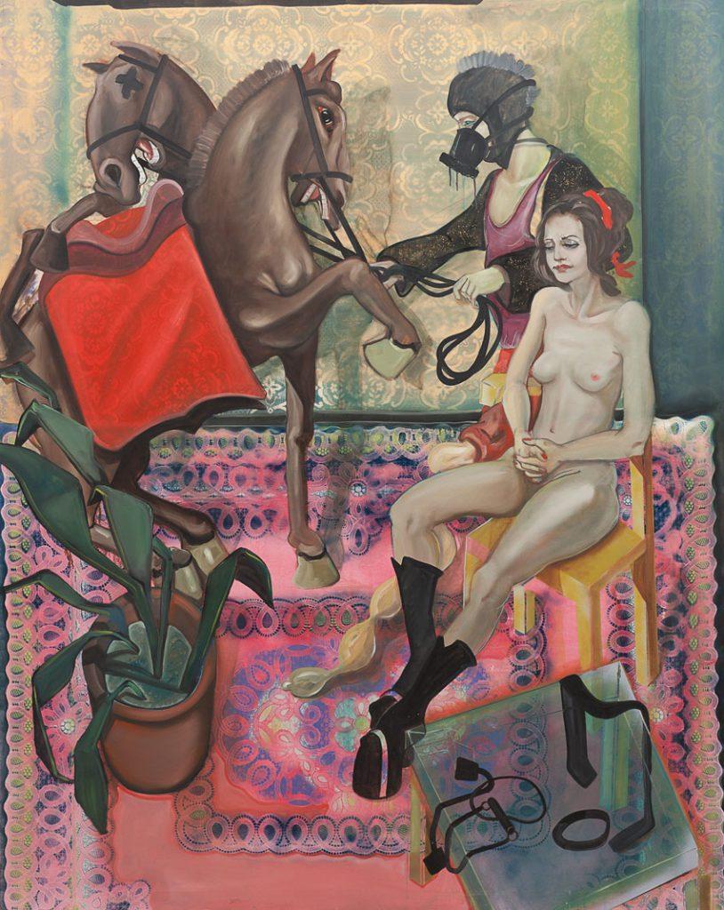 Wittern der Pferde, Robin Zöffzig
